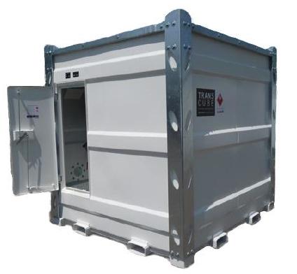 Топливный резервуар 9365 литров, состоящий из внутреннего резервуара (хранилища) и защитного кожуха,
